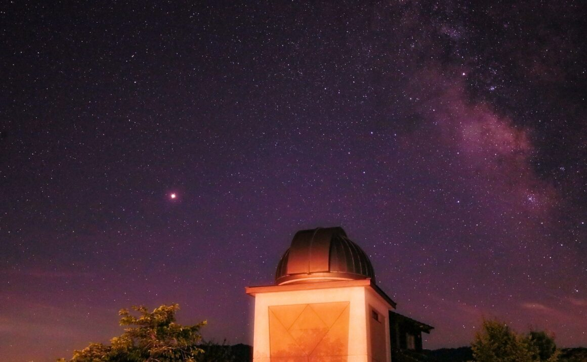 """The beautiful starry sky of Saji Astro Park is exactly like """"Catch The Star""""!"""