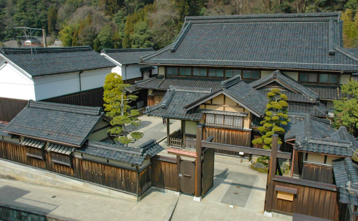 """Ishitani Residence"", compilation of modern Japanese traditional-style wooden construction"