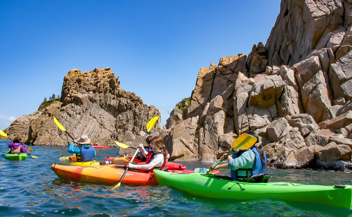 Uradome Coast Sea Kayak Tour - Spectacular scenery is right in front of you!