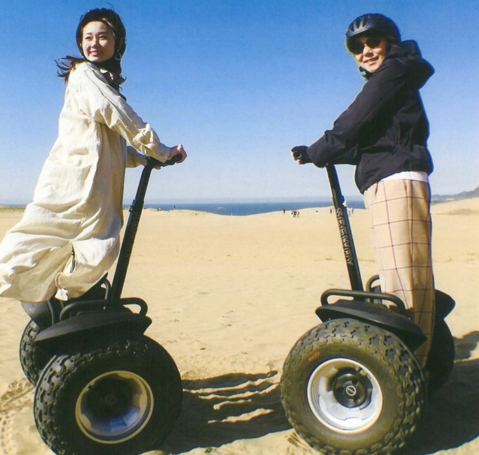 With Sakyu Segway, a new appreciation for the Sand Dunes!