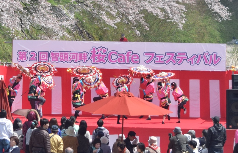 第7回智頭河畔桜Cafeフェスティバル